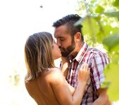 Daniel Hunter & Keisha Grey Share A Romantic Evening 12