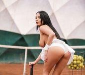 Anissa Kate - Anissa Anal Tennis Pratice 4