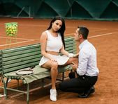 Anissa Kate - Anissa Anal Tennis Pratice 6