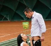 Anissa Kate - Anissa Anal Tennis Pratice 7