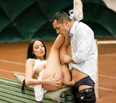 Anissa Kate - Anissa Anal Tennis Pratice 12