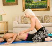 Mercedes Carrera, Cameron Dee - Massage on the Mat 6