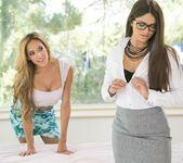 Chloe Amour, Aspen Rae - Seducing The Accountant 3