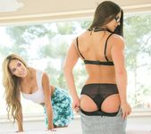 Chloe Amour, Aspen Rae - Seducing The Accountant 4