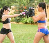Megan Rain, Adrianna Luna - Martial Arts Accident 2