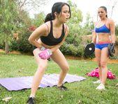 Megan Rain, Adrianna Luna - Martial Arts Accident 4
