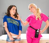 Aaliyah Love, Dillion Harper - What About My Panties? 2