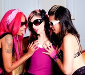 Skin Diamond, Holly D, Joanna Angel - Black & Pink Sex Fest 2