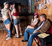 Joanna Angel, Kylee Kross, Kleio Valentien - Bartender Orgy 2