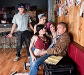 Joanna Angel, Kylee Kross, Kleio Valentien - Bartender Orgy 3