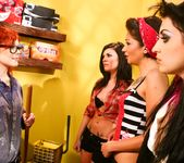 Andy San Dimas, Draven Star, Misti Dawn - Four Girls One Mop 2