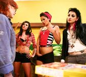 Andy San Dimas, Draven Star, Misti Dawn - Four Girls One Mop 3