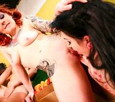 Andy San Dimas, Draven Star, Misti Dawn - Four Girls One Mop 13