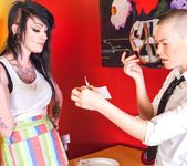 Kelly Chaos, Jiz Lee - Dine Ditch Fuck 3