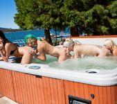 Cabin Girls Orgy 10
