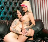 Jessie Lee, Tori Lux - Lesbo Strap-On Tryst 4