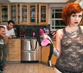 Proxy Paige, Rizzo Ford, Lucia Hyde - Kitchen Party Orgy! 2