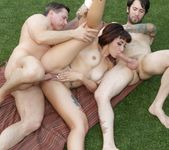 Veronica Layke - Threesome Poolside Party 9