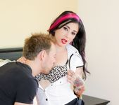 Joanna Angel - Striped Thigh Highs 2