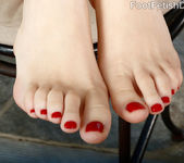 Anny Aurora Wraps Creamy Feet Around Cock 7
