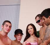 Abbey B, Carlos Bazuca - University Gang Bang #03 12