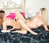 Dahlia Sky, Mia Gold - I Kissed A Girl And I Liked It 3