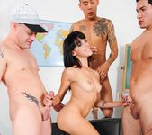 Binky Bangs - University Gangbang #12 15