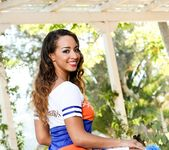 Teanna Trump, Filthy Rich - Chocolate Cheerleader Camp #02 19