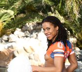 Kira Noir, Filthy Rich - Chocolate Cheerleader Camp #04 18