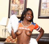 Kay Love, Isiah Maxwell - Chocolate Cheerleader Camp #04 28