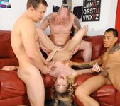 Maia Davis, Jenner - College Group Sex 9