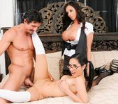 Ariella Ferrera, Tia Cyrus - Mommy You And Me Make 3 6