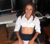 Shyla Ryder loves her big black dildo 4