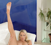 Christen Courtney - blonde vibrating her nice pussy 12