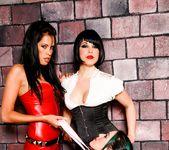 Kelly Summer, Mistress V, Lili Lux - Lesbian Fetish School 14