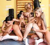 Lesbian Oil Orgy #02 3