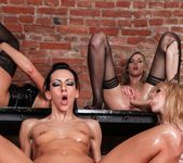Lesbian Oil Orgy #02 9