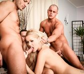 Sarah Blue - Oral Fixation - 3 Dicks And A Chick 4