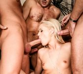 Sarah Blue - Oral Fixation - 3 Dicks And A Chick 12