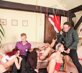 Barra Brass, Samantha Jolie, Terry Sullivan - X-Mas Orgy 5