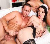 Linet Slag, Angie Emerald, Rachel Evans - X-Mas Orgy 14