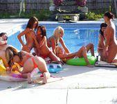 Lesbian Pool Party 8