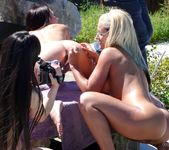 Lesbian Pool Party 7