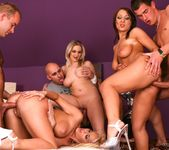 Darina, Chantal Ferrara, Cindy Dollar - Orgy Initiations #04 7