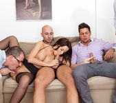 Cindy Dollar - 4 On 1 Gang Bangs 5