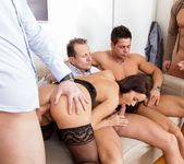 Cindy Dollar - 4 On 1 Gang Bangs 10