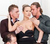 Samantha Jolie, George Black - 4 On 1 Gang Bangs 6