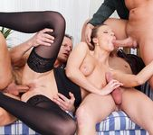 Samantha Jolie, George Black - 4 On 1 Gang Bangs 11