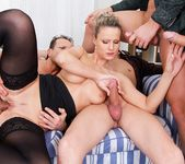 Samantha Jolie, George Black - 4 On 1 Gang Bangs 12