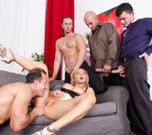Jenna Lovely - 4 On 1 Gang Bangs #02 4